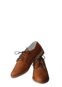 Matsidiso Liyano Leather Shoe - Tan