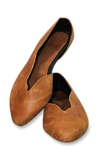 Laura Leather Shoe - Toffee