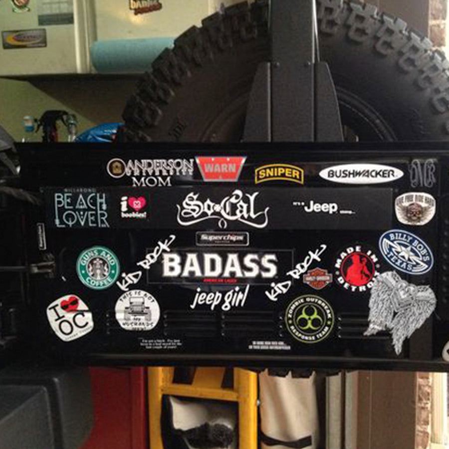 Jeep Decal of the Month Club