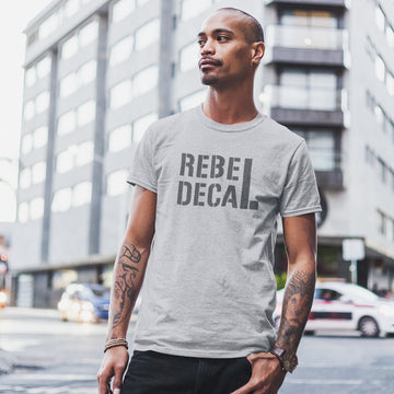 Grungy Rebel Decal T-Shirt