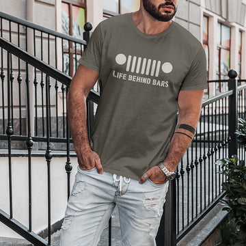 Life Behind Bars Jeep T-Shirt