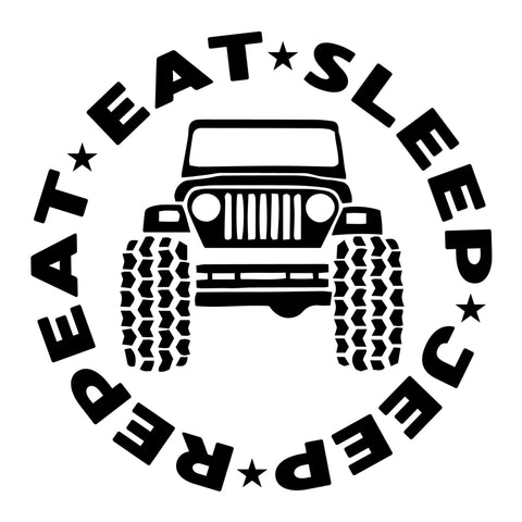 Eat. Sleep. Jeep. Repeat.