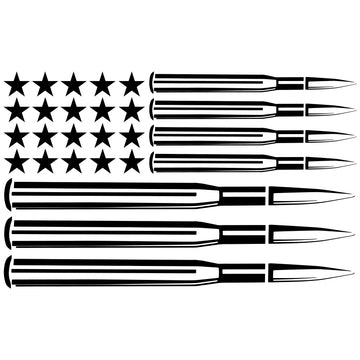 Murica Flag Decal
