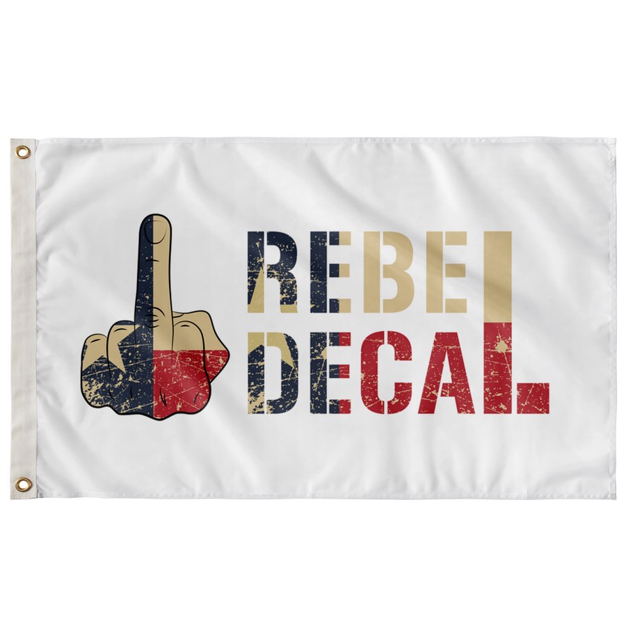 Rebel Decal Flag