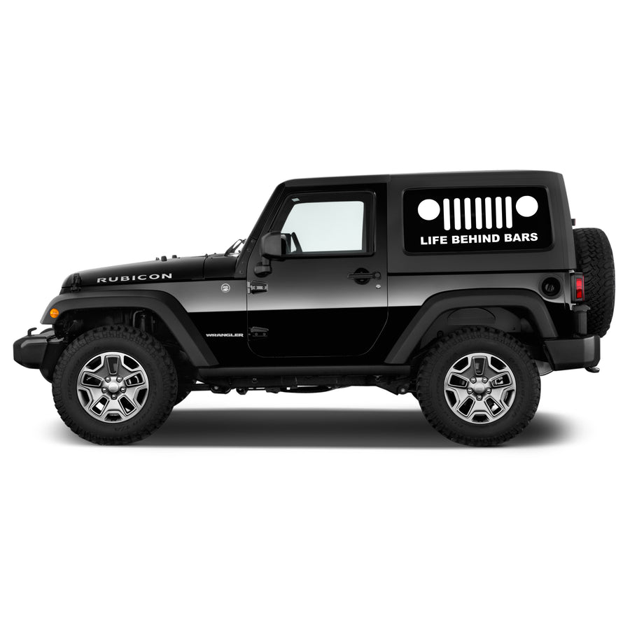 Life Behind Bars Jeep Decal