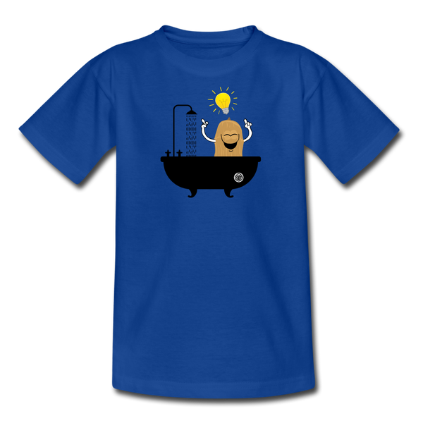 Teen´s T-Shirt - Eureka - royal blue