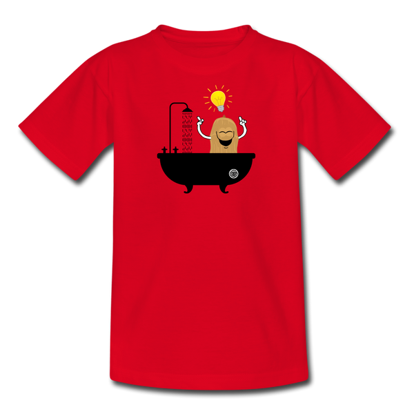 Teen´s T-Shirt - Eureka - red