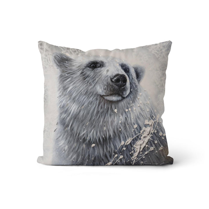 Coussin Ours hivernal