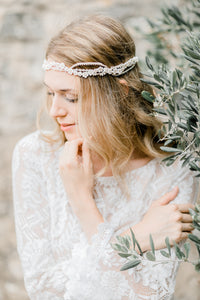 Adieu Mademoiselle - Headpiece - Rose