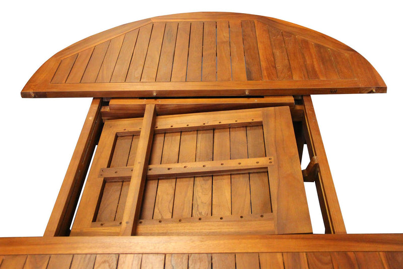 Ala Teak Indoor Outdoor Waterproof Dining Teak Wood Garden Table - ALA TEAK