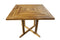 ALA TEAK Wood Patio Outside Indoor Outdoor Garden Yard Waterproof Table Furniture - ALA TEAK