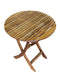 Ala Teak Indoor Outdoor Folding Teak Wood Table - ALA TEAK