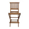 Ala Teak Outdoor Patio Bar Stool Seat Folding Chair - ALA TEAK