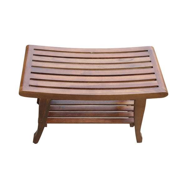 ALA TEAK Shower Spa Bath Waterproof Stool Bench - ALA TEAK