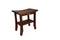 ALA TEAK 18 Teak Wood Shower Bath Spa Waterproof Bench Stool with Shelf - ALA TEAK