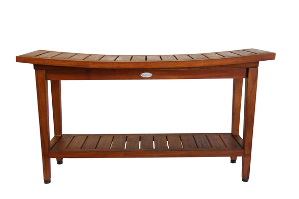ALA TEAK Spa Bath Shower Waterproof Stool Bench Shelf 36 - ALA TEAK