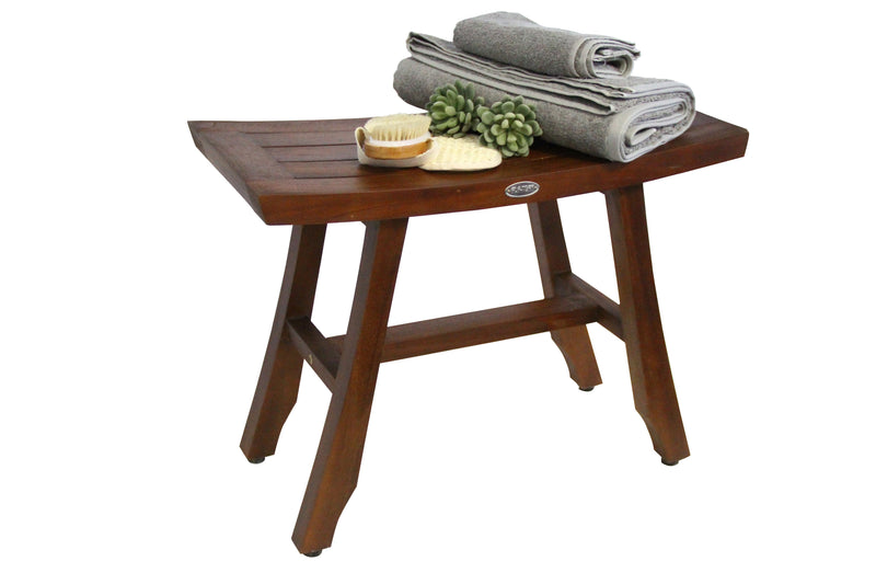 ALA TEAK 24 Shower Bath Spa Waterproof Bench Stool - ALA TEAK