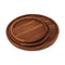 Ala Solid Teak Wood Serving Platters and Trays - Set of 3 highly durable Tray Platters - ALA TEAK