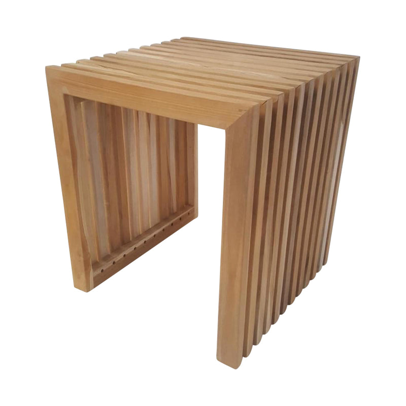 Ala Teak Wood Contemporary Design Bench - ALA TEAK