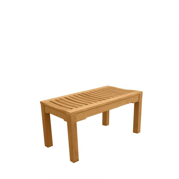 Ala Teak Indoor Outdoor Patio Garden Yard Bath Shower Spa Waterproof Stool Bench