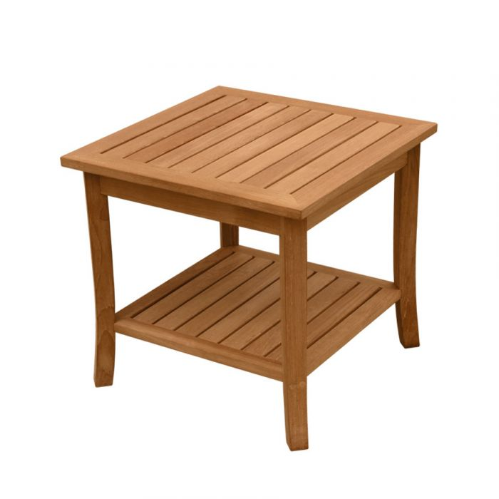 Ala Teak Indoor Outdoor Patio Garden Yard Bath Coffee Side Table - ALA TEAK