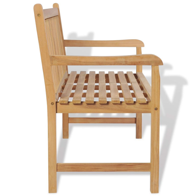 Outdoor Bench Teak - ALA TEAK