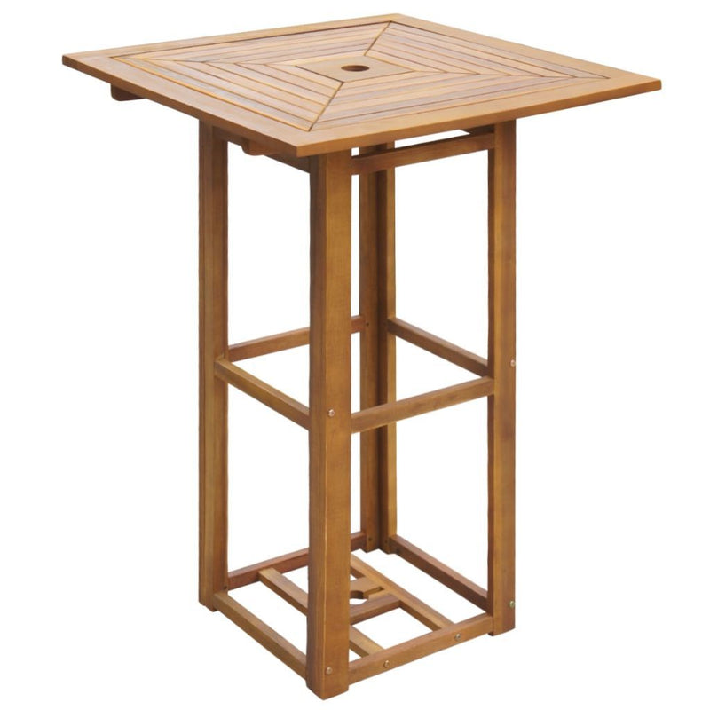 Outdoor Bar Table Acacia Wood - ALA TEAK
