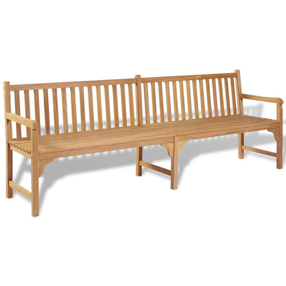 Outdoor Bench Teak 240x62.5x90 cm - ALA TEAK
