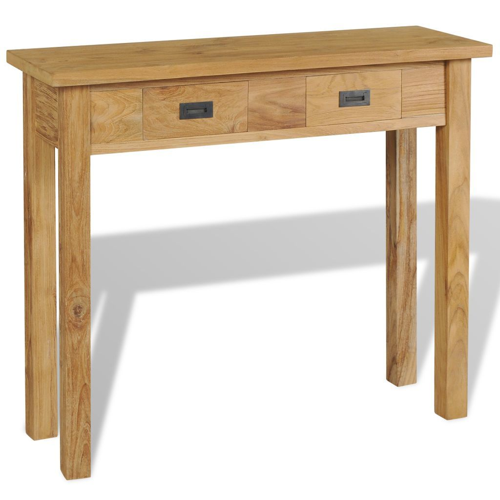 Console Table Solid Teak 90x30x80 cm - ALA TEAK