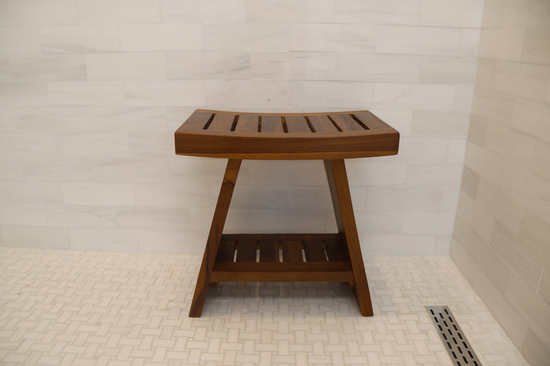AlaTeak Shower Bench - ALA TEAK