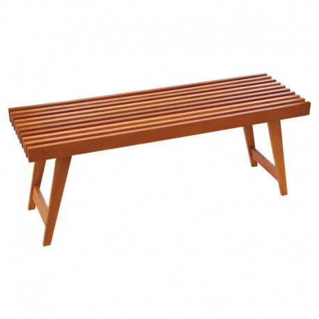 Ala Teak Indoor Outdoor Patio Garden Yard Bath Shower Spa Waterproof Stool Folding Bench - ALA TEAK