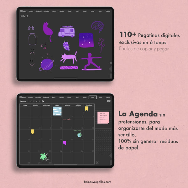 LA AGENDA 2020/2021 DIGITAL E INTERACTIVA PARA IPAD y Android