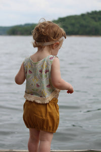 Alma & June Handmade Bloomers in Mustard