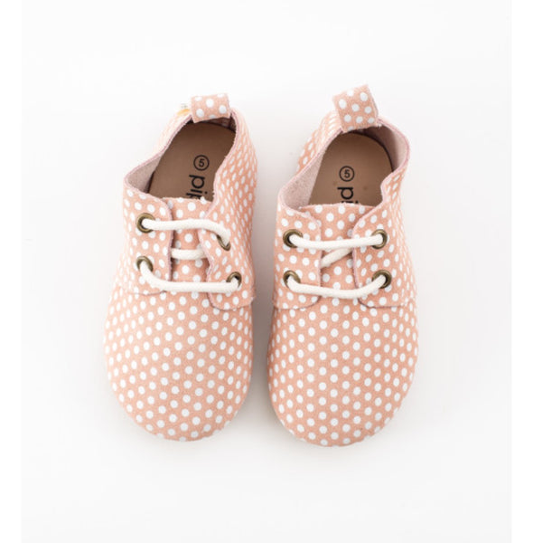 Piper Finn Pink Dots Oxford