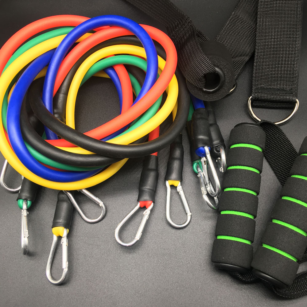 #1 'Rope Pull' Resistance Band Kit