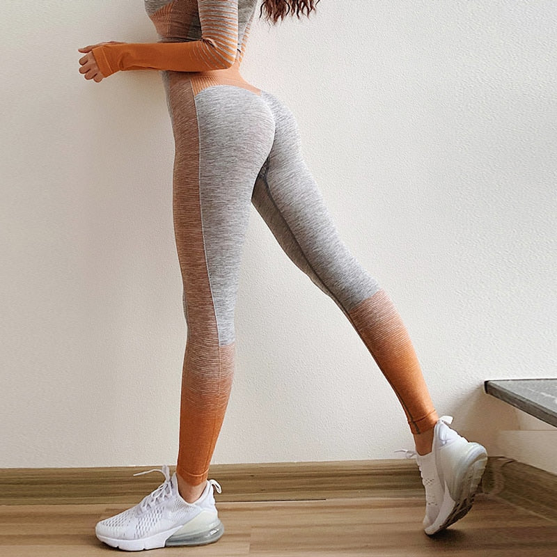'Lights' Fitness Leggings and Crop Tops