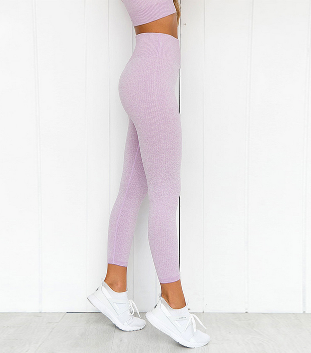 'Mile' Fitness Leggings and Crop Top