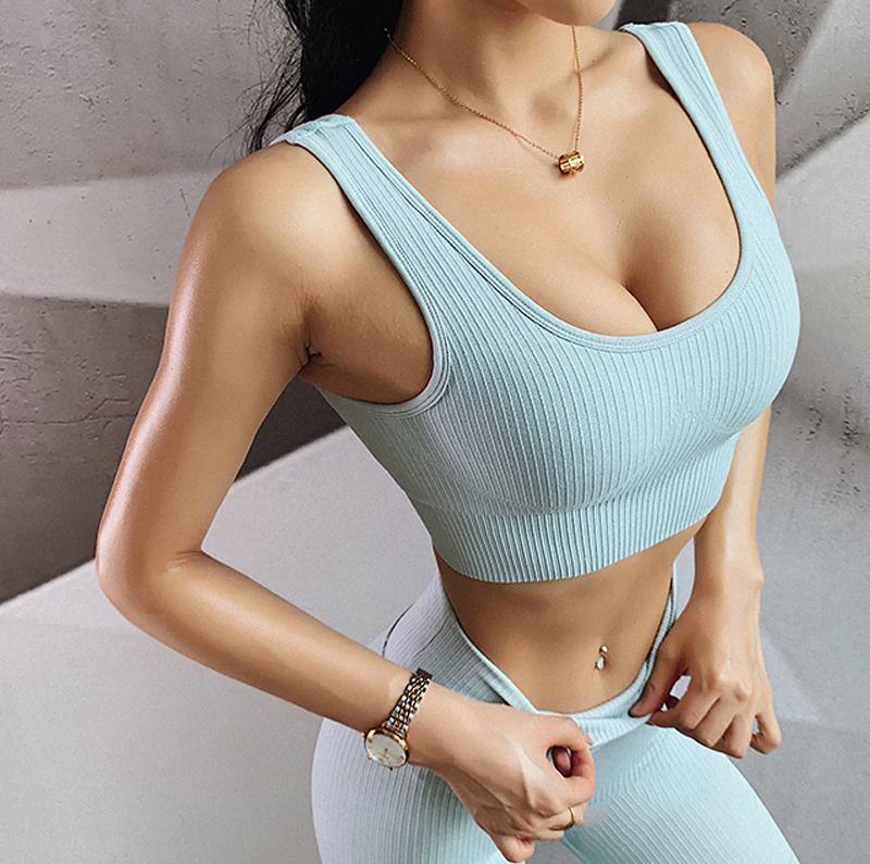 'Milky' Fitness Leggings and Top