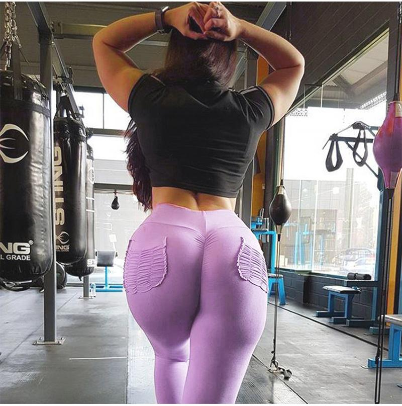 Pocket 'Push-Up' Leggings
