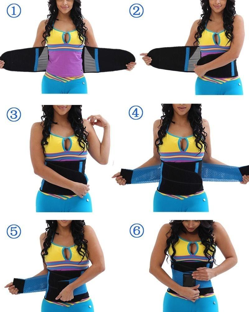 #1 Fitness Belt Xtreme™ Power Thermo Hot Body Shaper