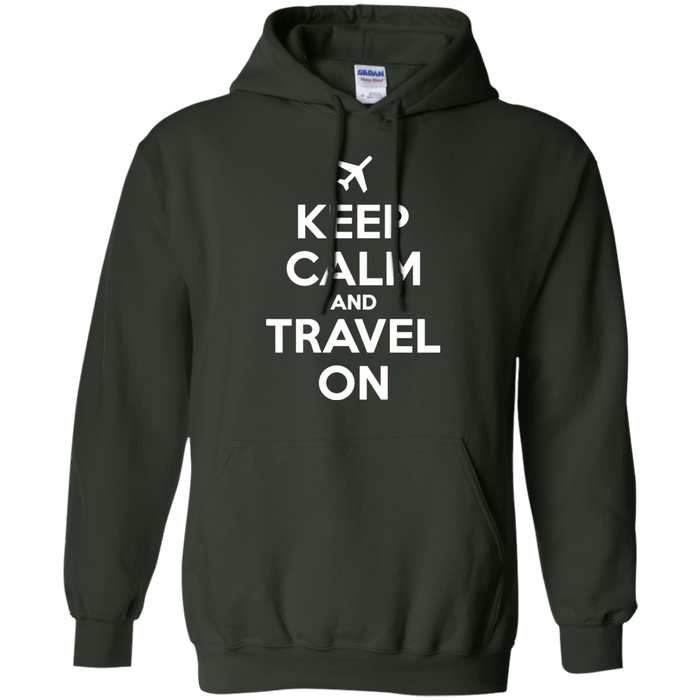 Keep Calm And Travel On Apparel - By NOMADO