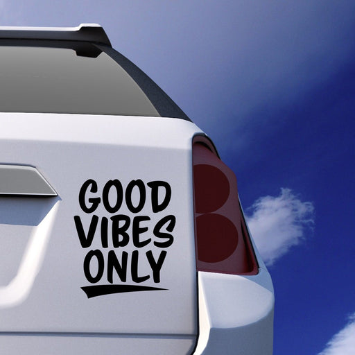 Good Vibes Only Car Sticker Vinyl Decal - By NOMADO
