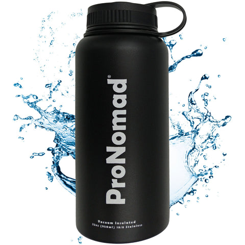 32 Oz. Vacuum Insulated Thermos Water Bottle - By ProNomad