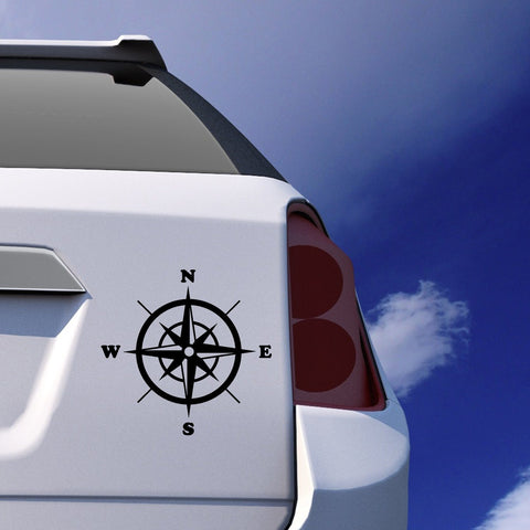 Compass Car Sticker Vinyl Decal - By ProNomad