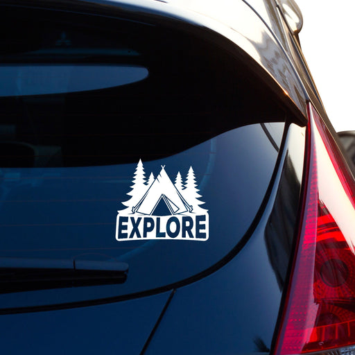 Explore Car Sticker Vinyl Decal - By NOMADO