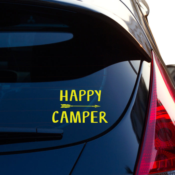 Happy Camper Vinyl Decal - By NOMADO
