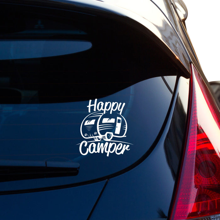 Happy Camper RV Vinyl Decal