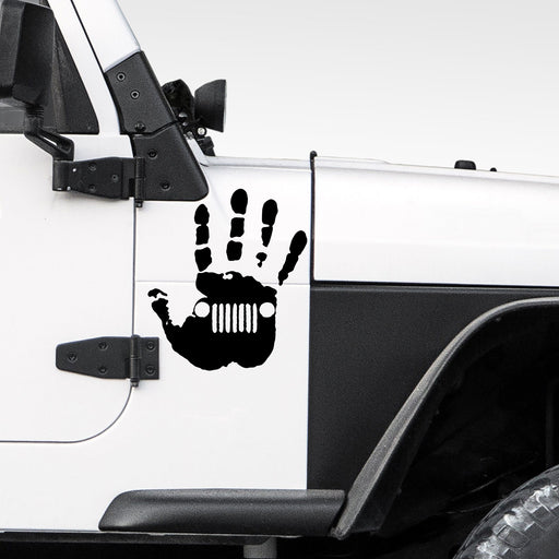Jeep Wave Window Car Sticker Vinyl Decal - By NOMADO