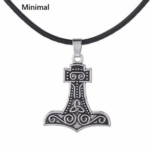 Supernatural Thor's Hammer Pendant Necklace