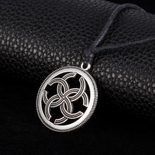 Slavic Seal Magical Wealth Prosperity Pendant Necklace